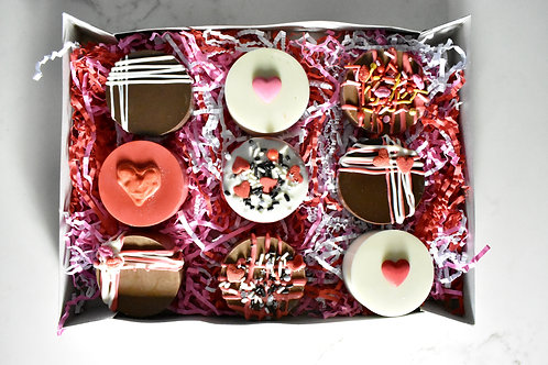 Valentines Day Chocolate Covered Oreos