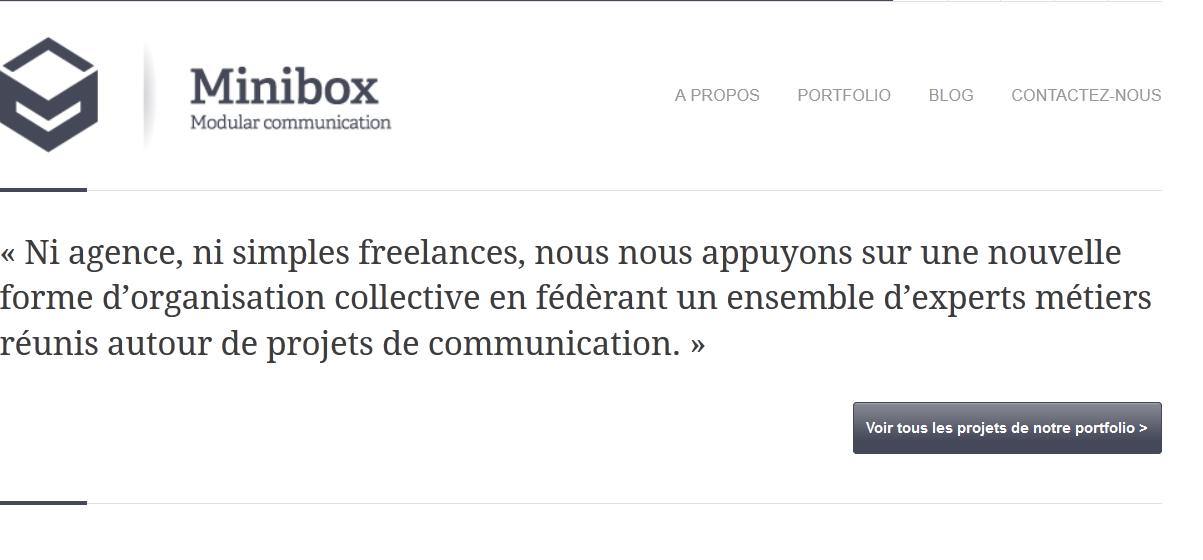 MINIBOX COMMUNICATION