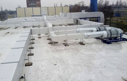 Szénszál gyártó üzem