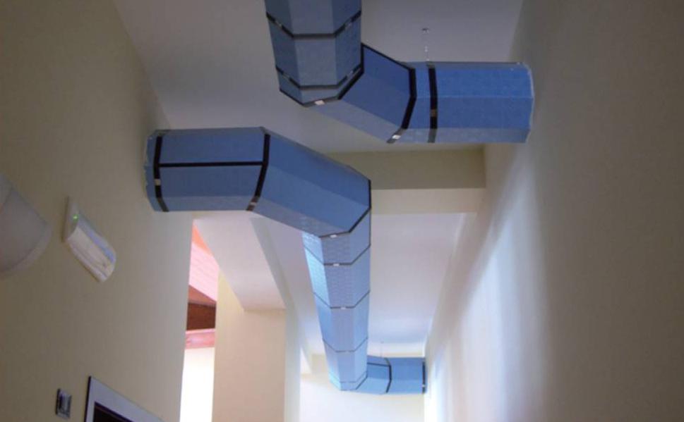 Nyolcszögletű légcsatorna