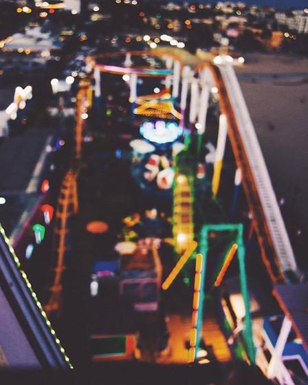 Santa Monica Pier by Lela Jenkins