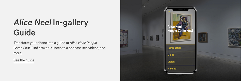 Alice Neel: People Come First In-gallery Guide