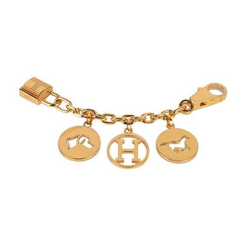Hermes Breloque Bag Charm Gold