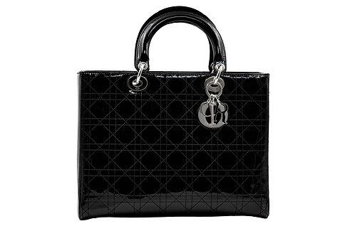 Dior Lady Dior Large Black