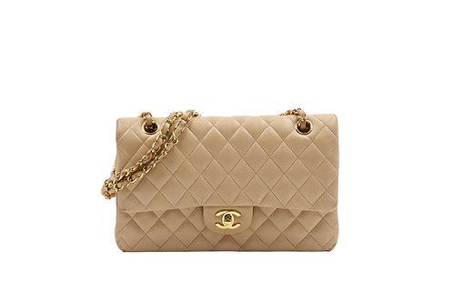 Chanel Classic Flap Beige Lambskin GHW