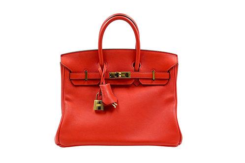 Hermès Birkin 25 Rouge GHW