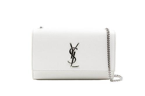 Saint Laurent Kate Bag Medium White
