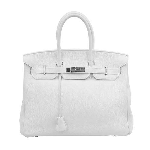 Hermès Birkin 35 White PHW