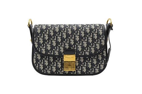 Dior Navy Monogram Oblique Bag