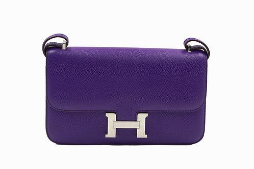 Hermès Constance Elan Ultra Violet Epsom Leather PHW