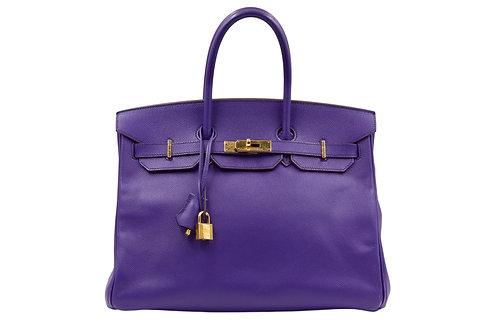 Hermès Birkin 35 Ultra Violet Epsom