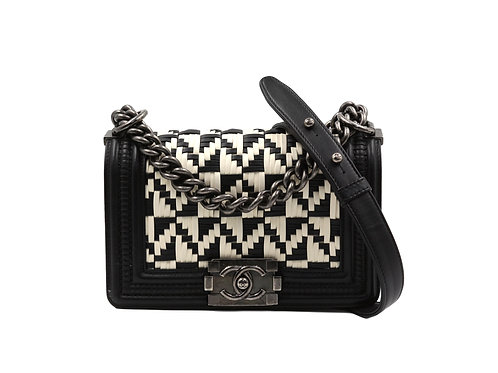 Chanel Boy Limited Edition Black & White