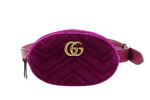 Gucci Marmont Velvet Belt Bag Small