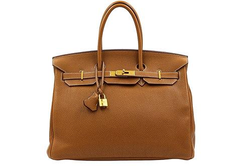 Hermès Gold Birkin 35 GHW