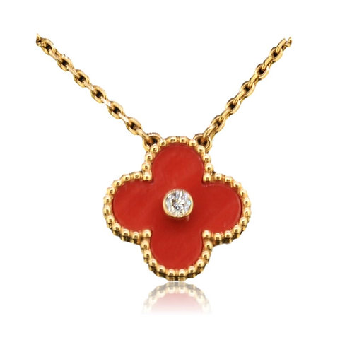 Van Cleef Vintage Alhambra Necklace