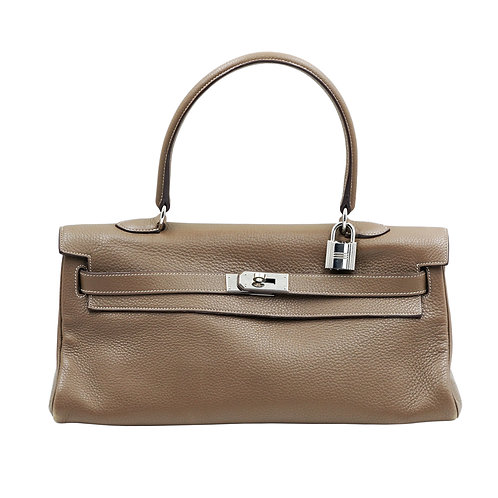 Hermès JPG Shoulder Kelly 42 Etoupe