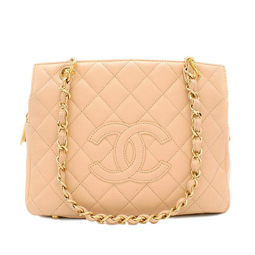 Chanel Beige Clair Petite Shopping Tote