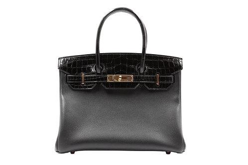 Hermès Birkin Touch Noir RHW