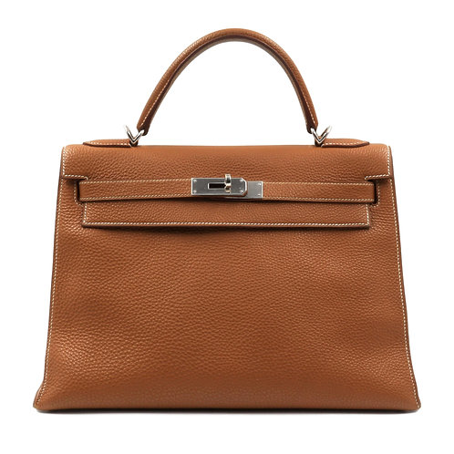 Hermès Kelly 32 Togo Gold PHW