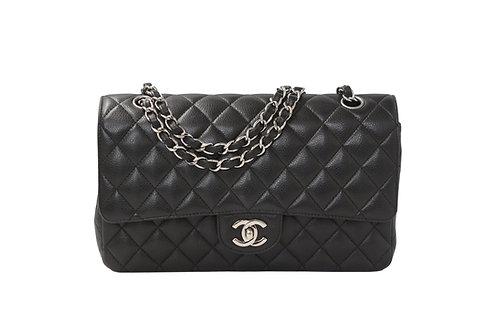 Chanel Medium Flap Bag Black Caviar