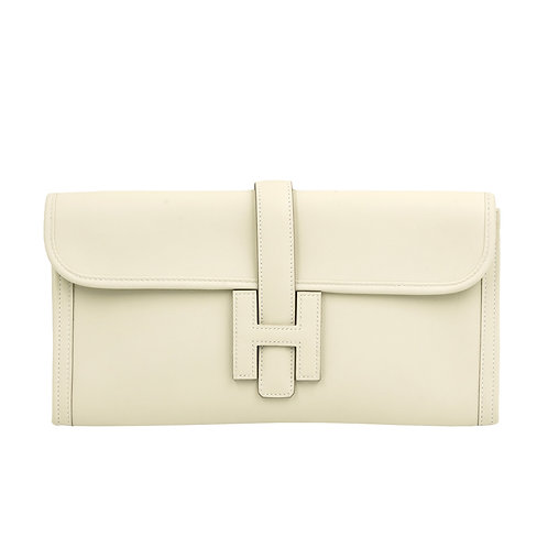 Hermès Swift Jige Elan 29 Clutch Beton