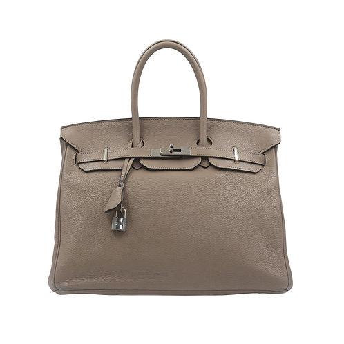 Hermès Birkin 35 Gris Tourterelle