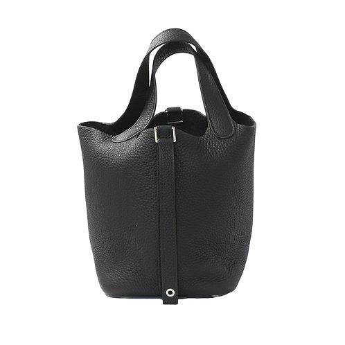 Hermès Picotin Black 18 PM