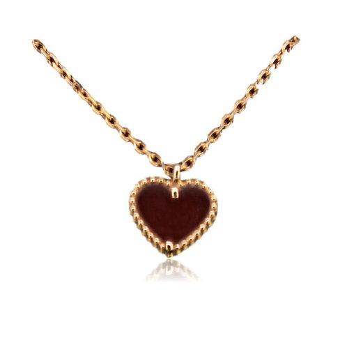 Van Cleef Alhambra Sweet Heart Necklace