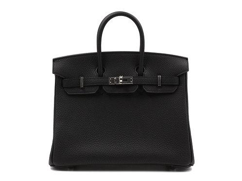 Hermès Birkin 25 Black Togo PHW