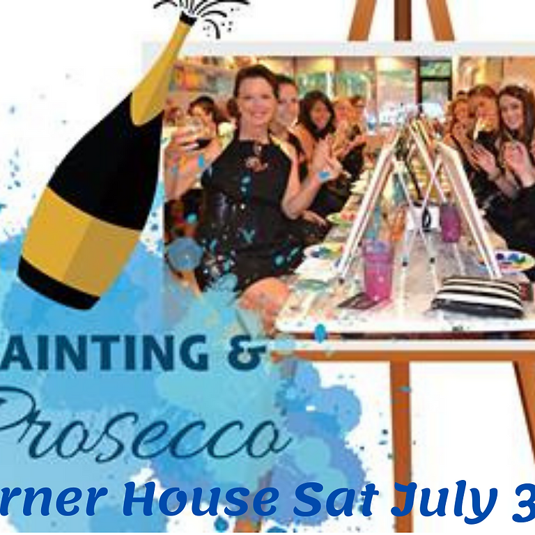 Paint and Sip Party The Corner House Heaton Rd