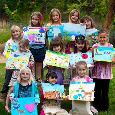 Paint and Sip Party Kids South Shields