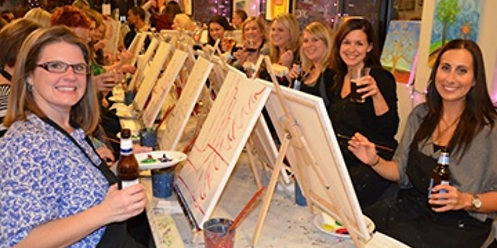 Paint and Sip Party The Victoria Whitley Bay