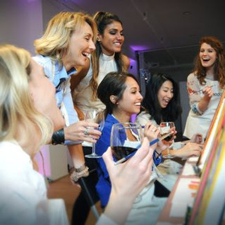 Paint and Sip Party Club Del Mar South Shields
