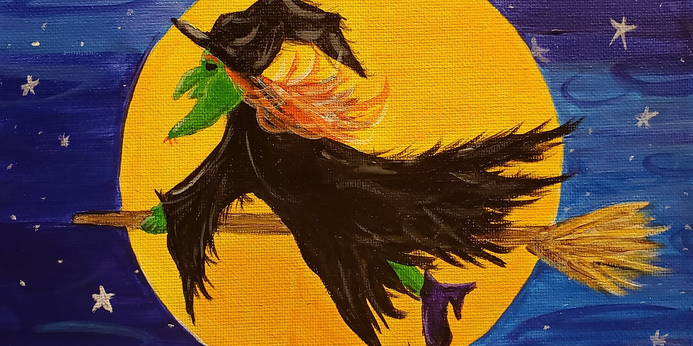 Paint and Sip Halloween The Victoria Whitley Bay POSTPONED