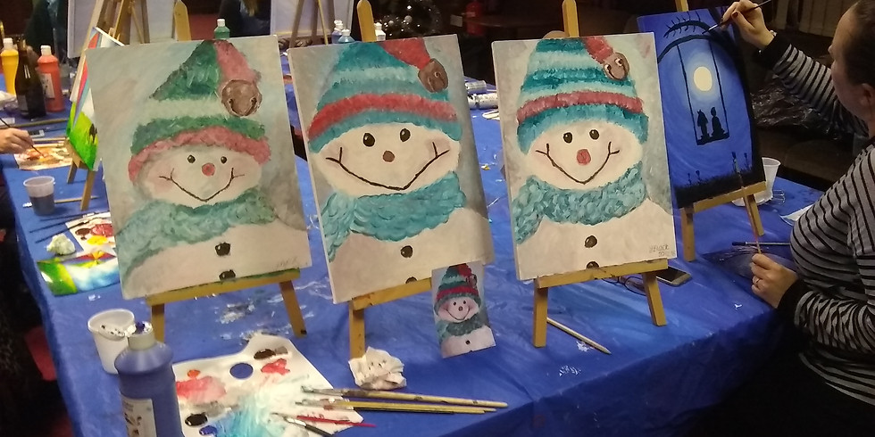3 for 2 Tickets Linskill Centre North Shields Paint and Sip Party