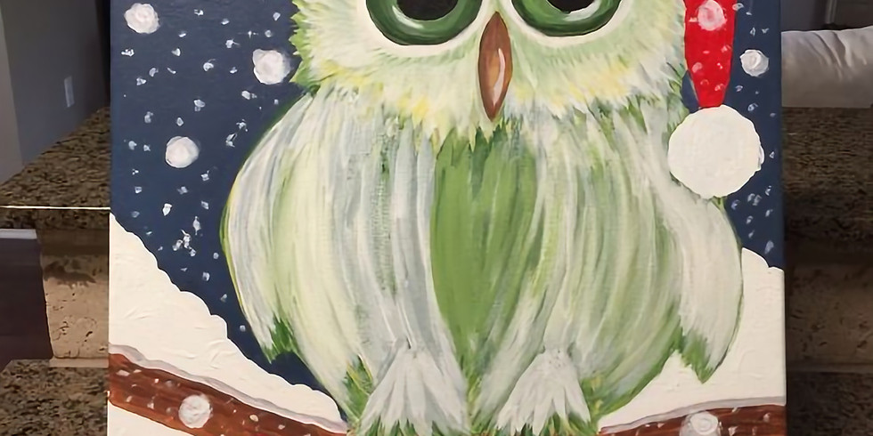 Paint and Sip Xmas Party The Victoria Whitley Bay