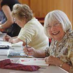 Paint and Sip Holmea Care Home