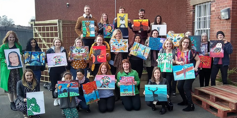 Paint and Sip Party The Shipley Art Gallery, Prince Consort Rd, Gateshead.