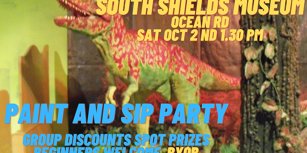 Paint and Sip Party South Shields Museum