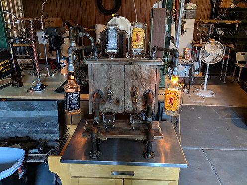 Large Whiskey Despenser-straight pipe light