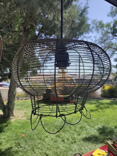Egg Basket Hanging Light