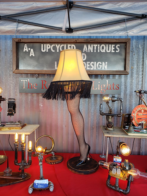 Leg Lamp-Hand made from The Christmas Story