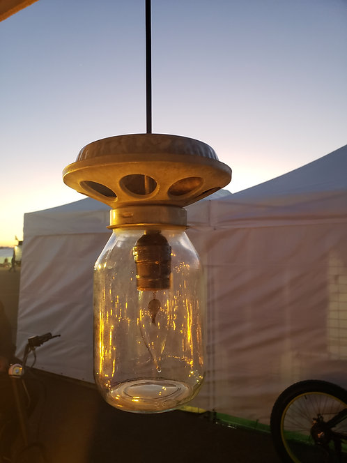 Chicken Feeder Hanging Light