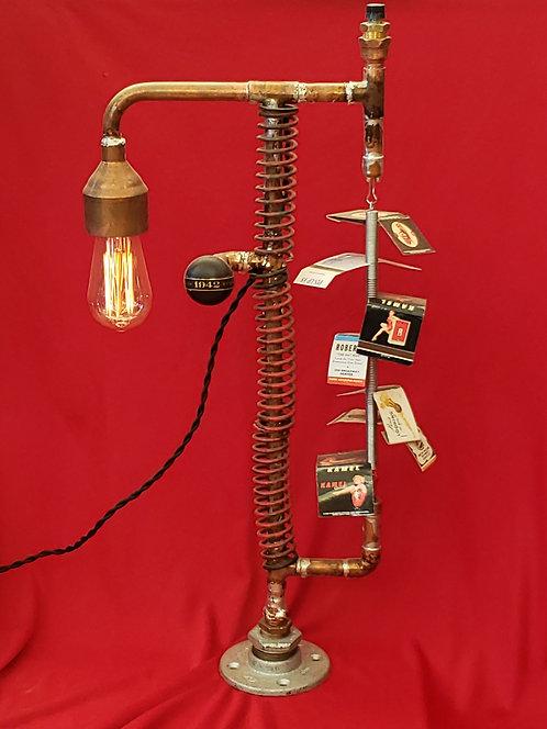 Copper Spring Vargas Girls Matchbook Lamp