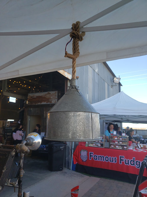 Milk Funnel Hanging Lamp