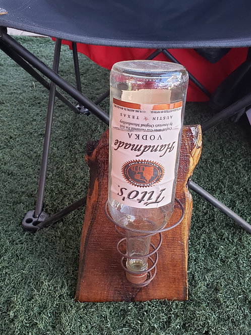 Single Bottle Sconce