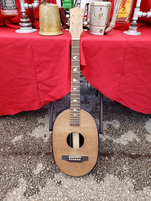 Guitar made from a Roasting Pan