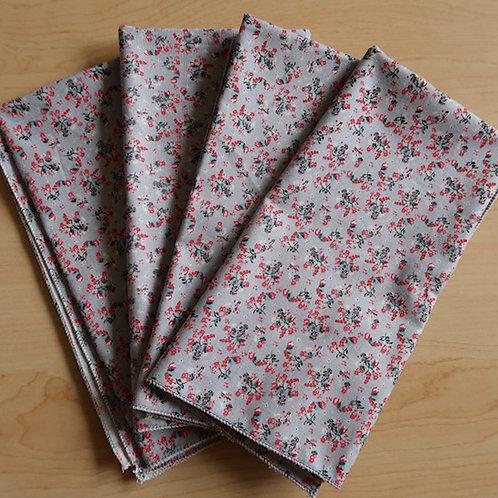 Floral Cloth Napkins