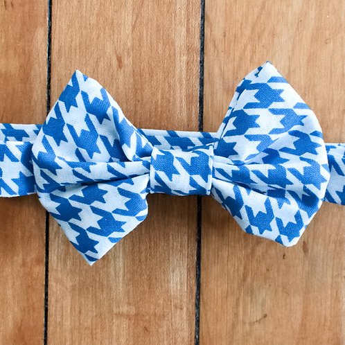 Houndstooth Kids Bow Tie