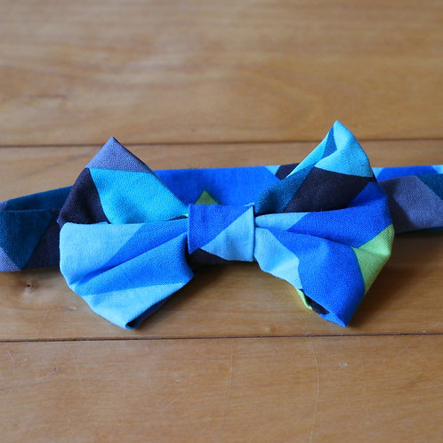 Geometric Kids Bow Tie